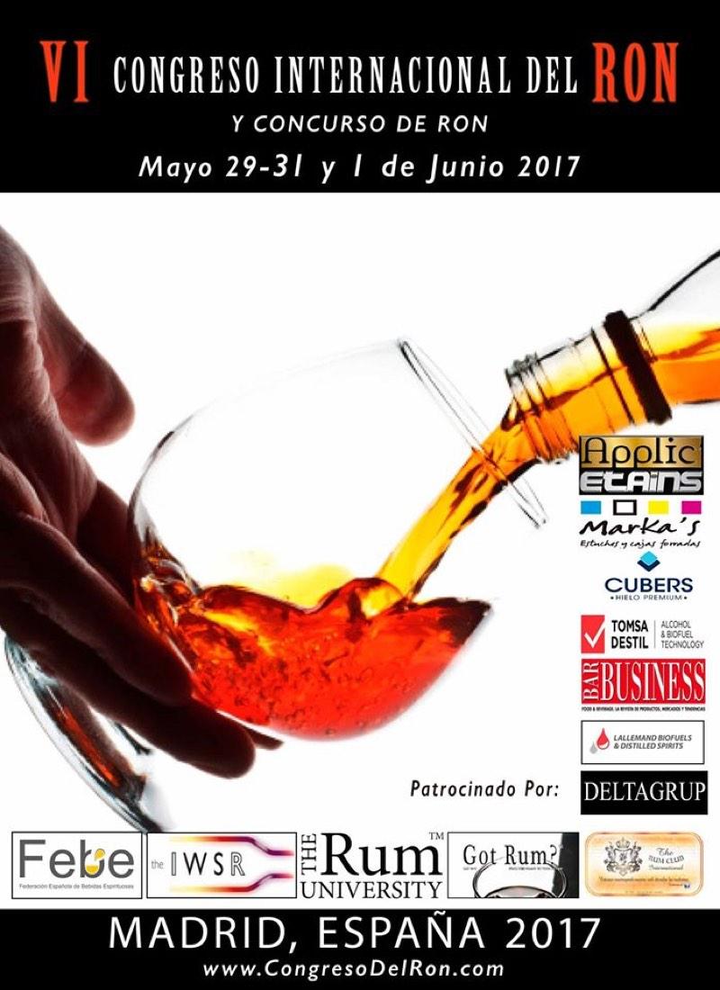 VI Congreso Internacional del Ron 2017: las mejores marcas de ron se dan cita en Madrid