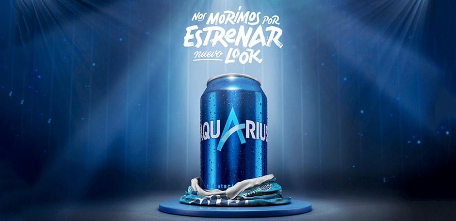 Coca-Cola renueva 'Aquarius' por su 25 aniversario