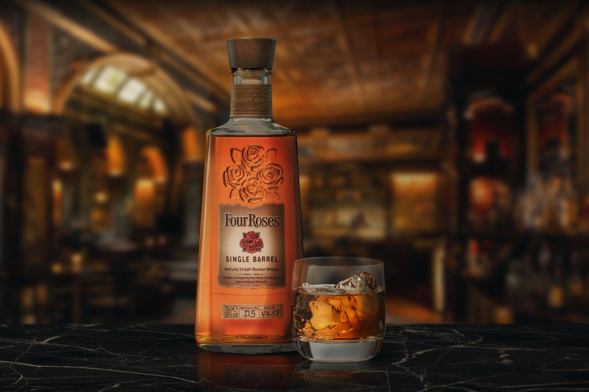 Los whiskies Four Roses y Glenfarclas renuevan su imagen