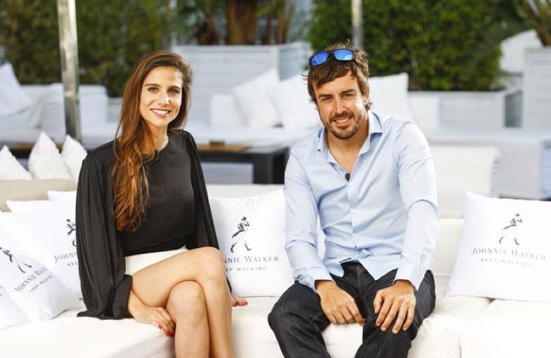 Fernando Alonso presenta la campaña de 2017 'Únete al Pacto' en Barcelona