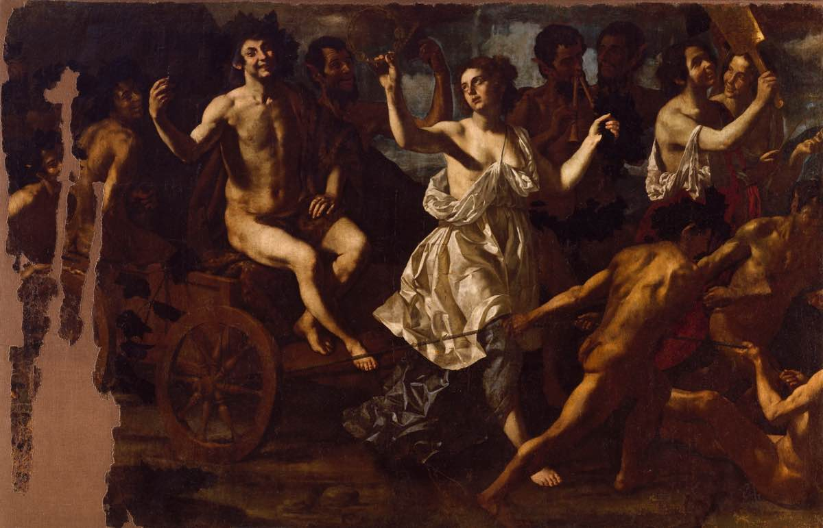 """Triunfo de Baco"" (después de 1635), de Paolo Domenico Finoglia"