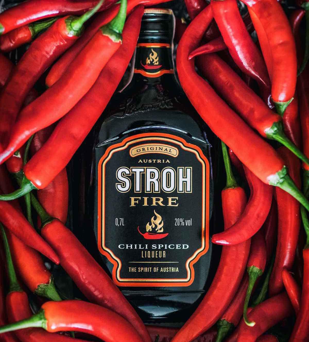 El espíritu de Austria aterriza en España con Stroh Fire Spice