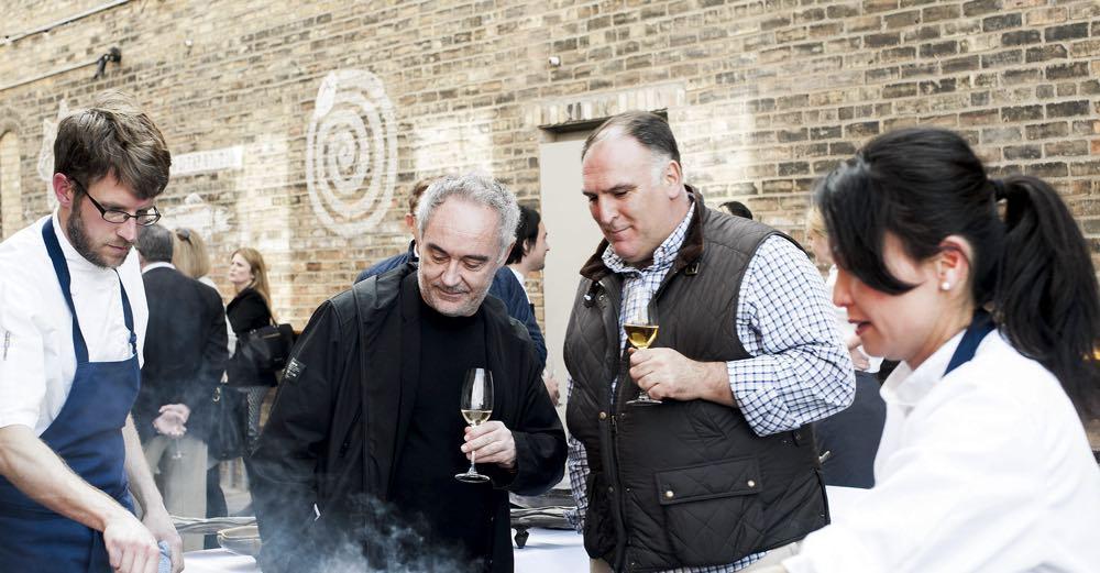José Andrés y Ferrán Adriá, embajadores de los vinos españoles en Vinexpo Burdeos 2017