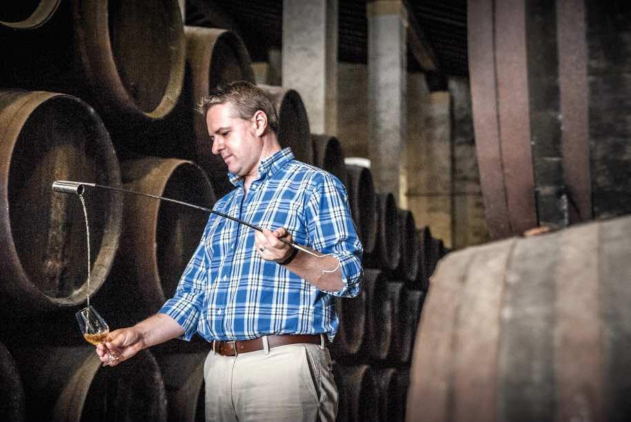 Sergio Martínez, enólogo y Cellar Master de Bodegas Lustau, Mejor Enólogo de Vinos Generosos del Mundo en 2017