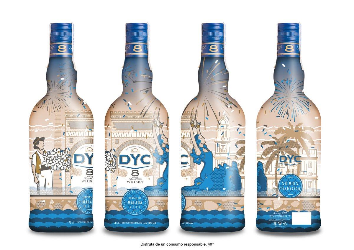 Málaga se viste de luz con la nueva edición especial de DYC para 2017