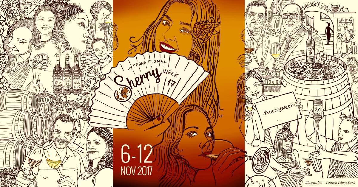 Del 6 al 12 de noviembre: la 4ª edición de la International Sherry Week 2017 ya tiene fecha