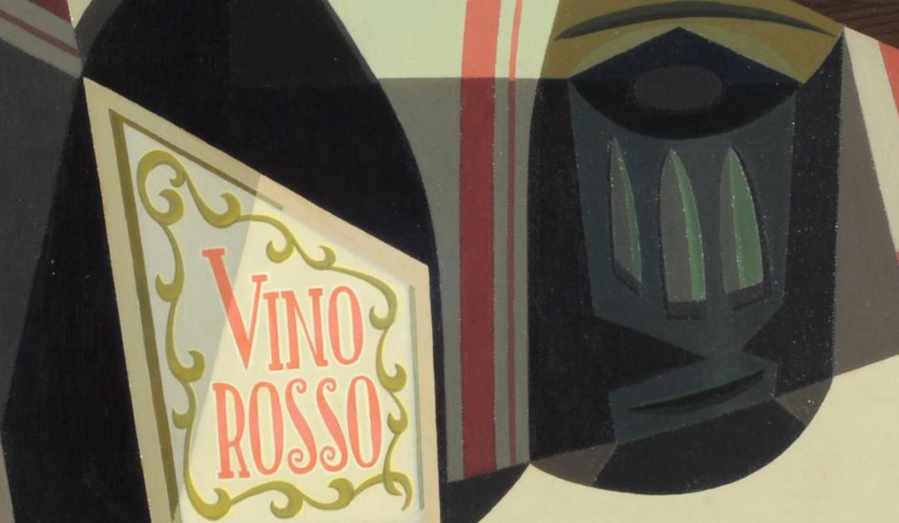 """""""Vino rosso"""" (1940), de Emilio Pettoruti"""