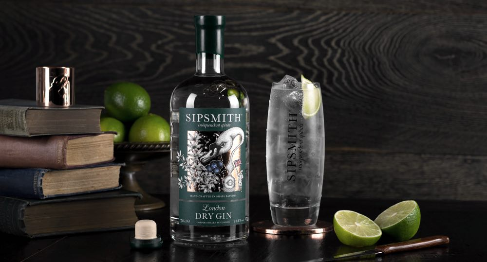 Sipsmith Gin, una ginebra que ha vencido a las leyes británicas