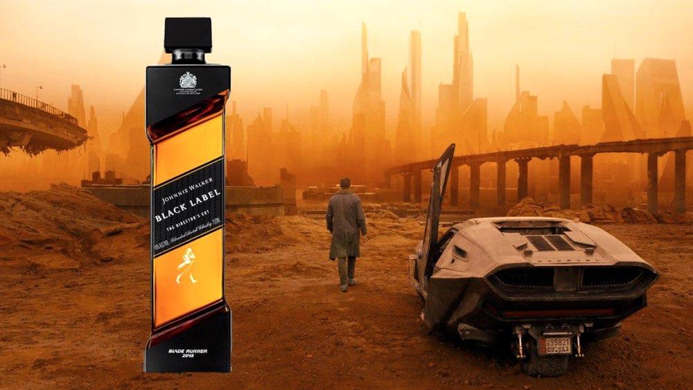 Johnnie Walker crea una botella especial para la película Blade Runner 2049