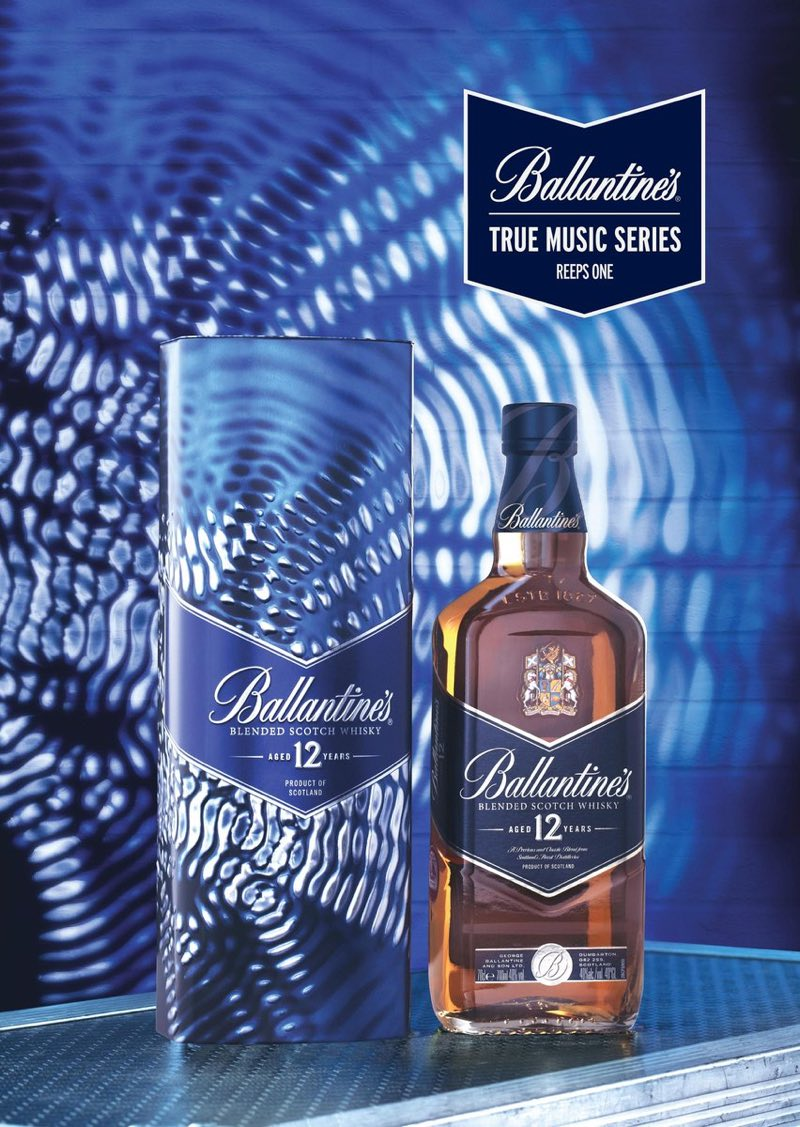 La música de Reeps One, protagonista de la nueva edición limitada Ballantine's True Music Series