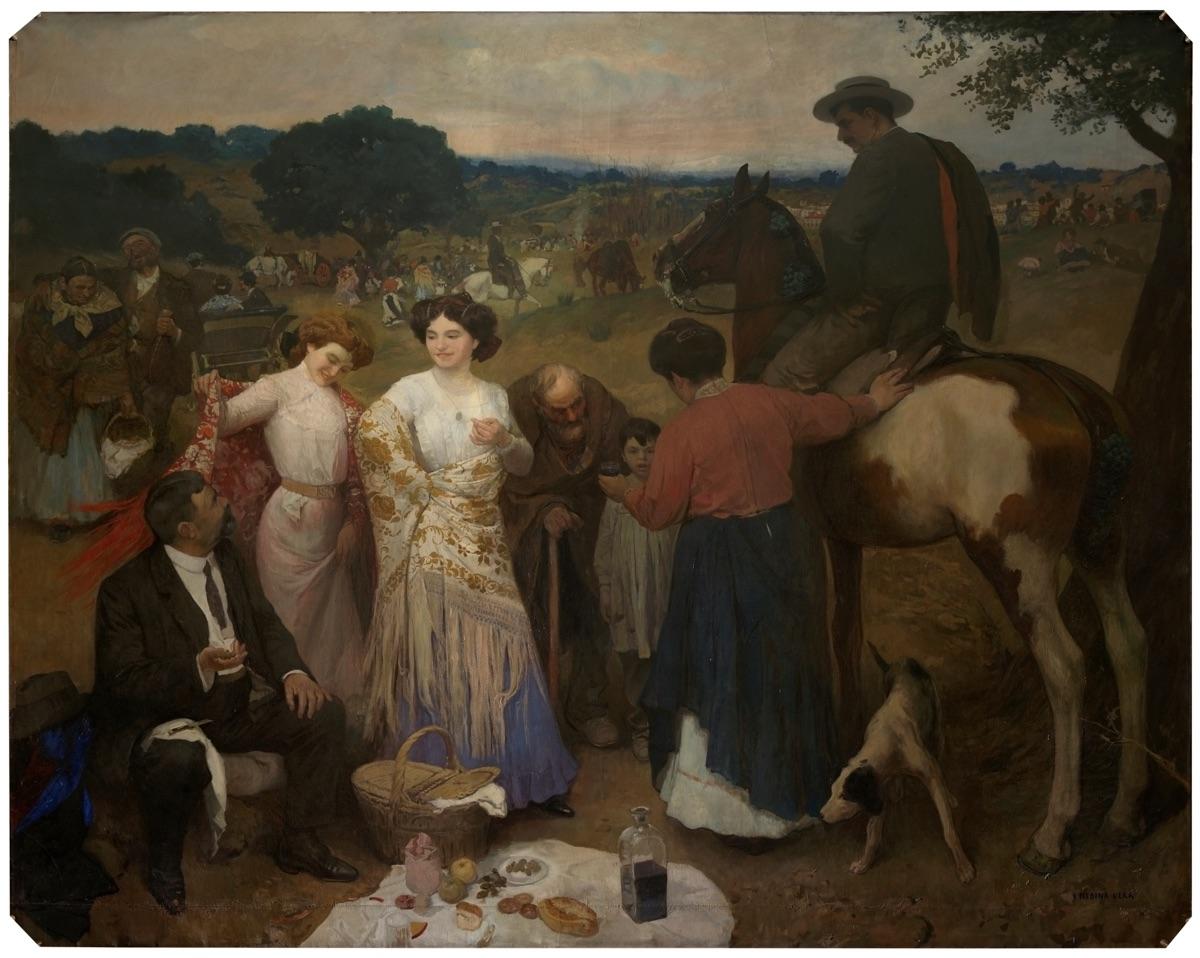 """""""La Romería de San Eugenio"""" (1910), de Inocencio Medina Vera"""