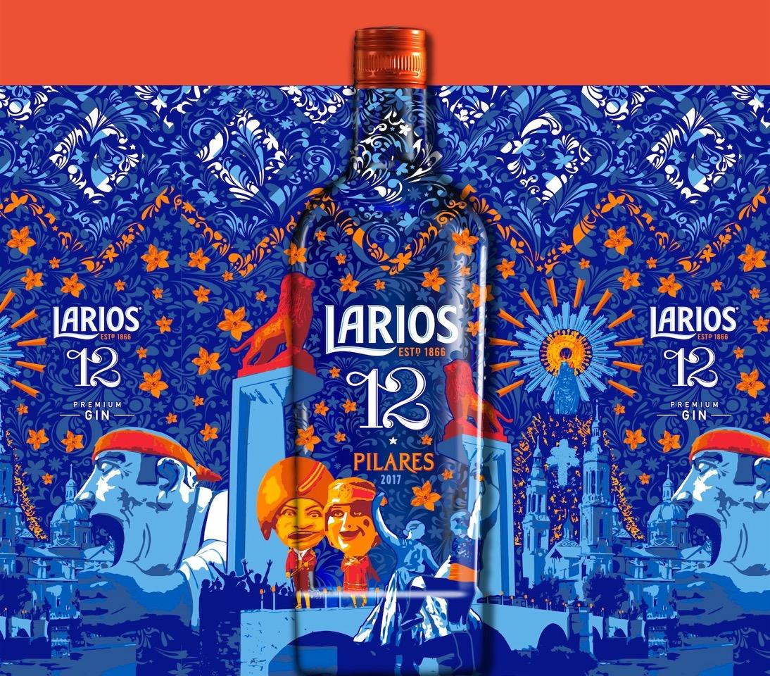 Larios 12 acerca a las fiestas del Pilar de Zaragoza el espíritu mediterráneo con una edición especial
