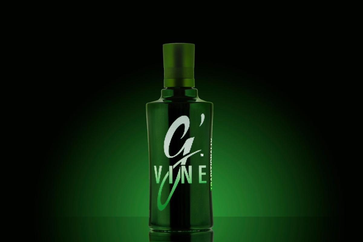 G´Vine Gin Night Edition, ginebra con luz propia