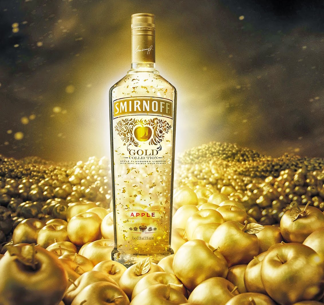 Smirnoff Gold Apple, una exclusiva edición del destilado más vendido del mundo