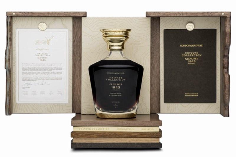 Glenlivet Cask 121, el whisky de 1943 más exclusivo destilado en plena Guerra Mundial