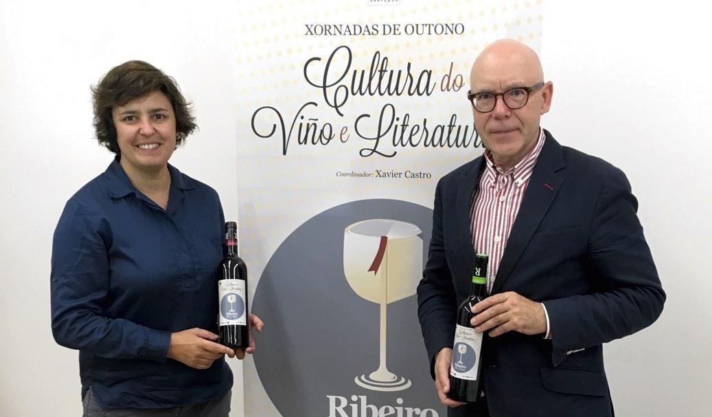 Las II Jornadas de Cultura del Vino y Literatura rinden homenaje a la literatura gallega con Ribeiro