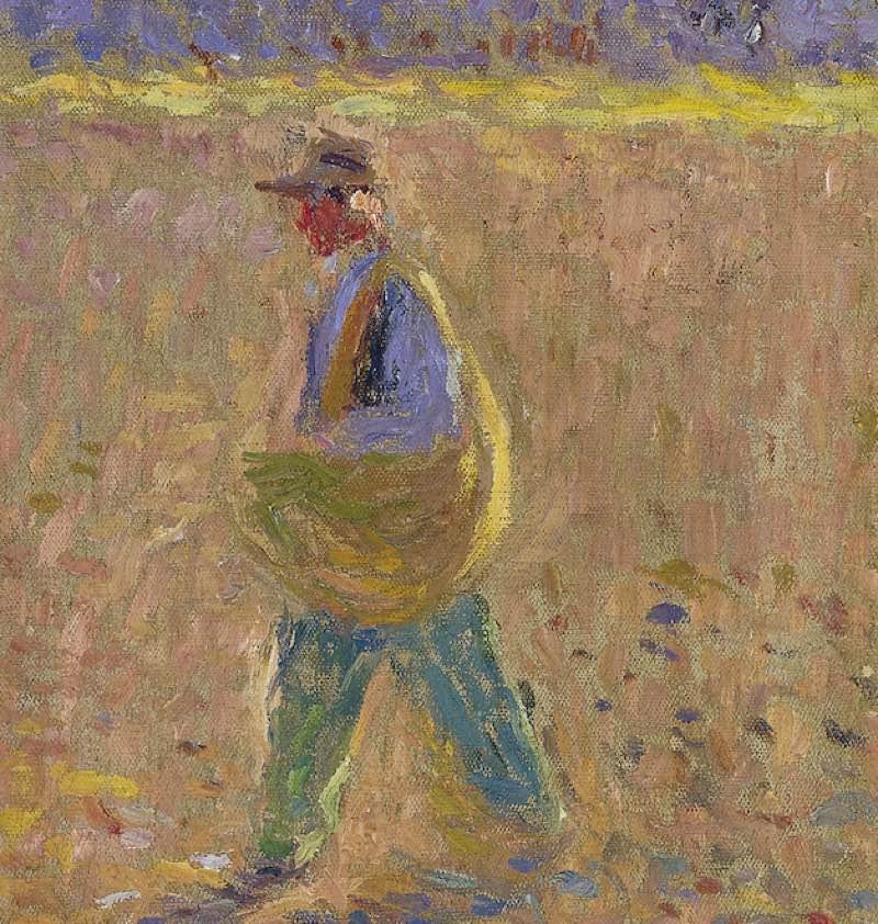 """""""El sembrador"""" (hacia 1914 – 1920), de Henri Martin"""