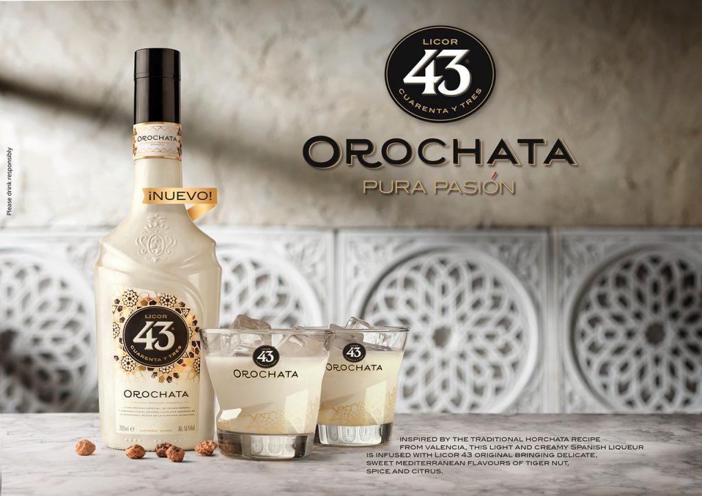 Licor 43 Orochata, Licor 43 con sabor a horchata