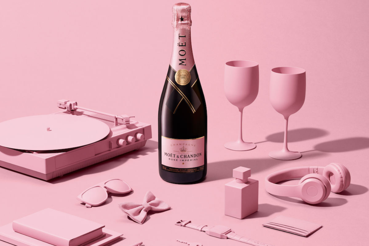 Moët & Chandon homenajea a Madame de Pompadour con 'Rosé Capsule Collection', un rosé edición limitada