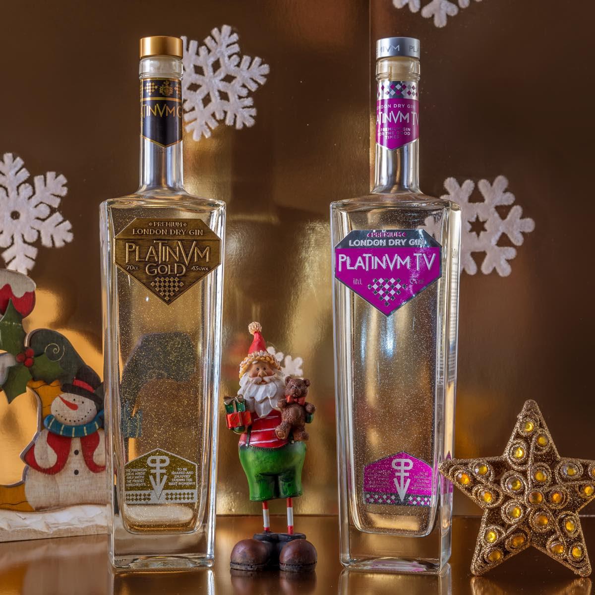 El pack de ginebras Platinvm, regalo perfecto para esta Navidad