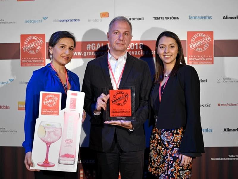 Ginial Rosé, premio a la innovación en el certamen Producto del Año 2018