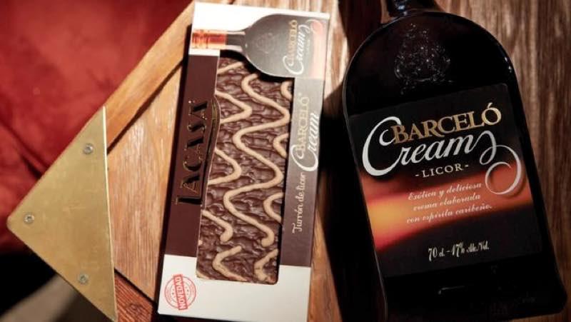 Ron Barceló Cream une fuerzas con Lacasa y lanza turrón de licor