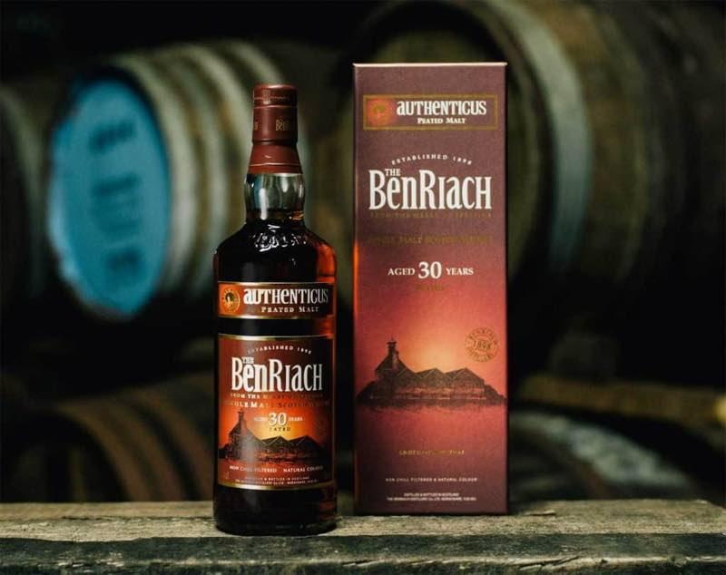 BenRiach lanza Authenticus, un whisky de hace 30 años