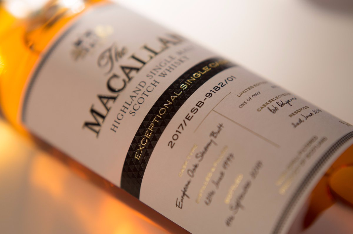 The Macallan presenta barricas individuales sin precedentes con The Macallan's Exceptional Single Cask Range