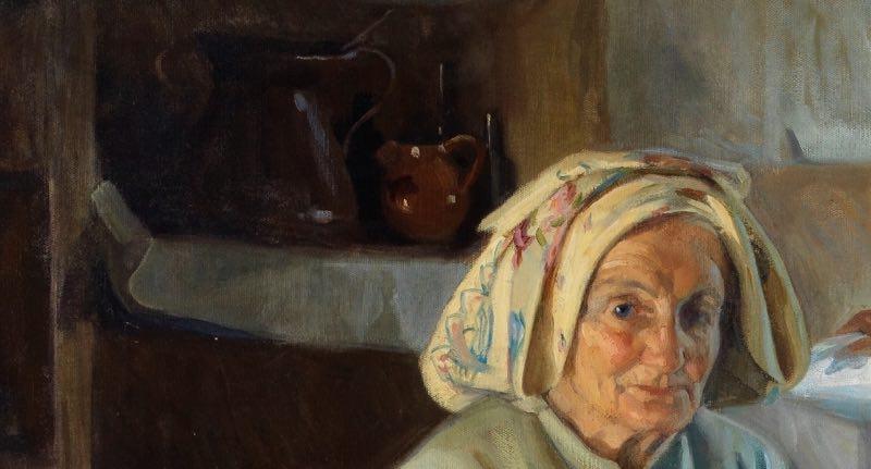 """Interior"" (1909), de José Nogué Massó"