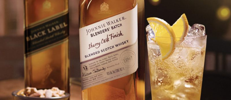 Johnnie Walker Blenders' Batch Sherry Cask, nuevo whisky de edición limitada