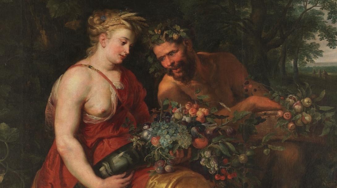 """""""Ceres y Pan"""" (hacia 1620), de Frans Snyders"""