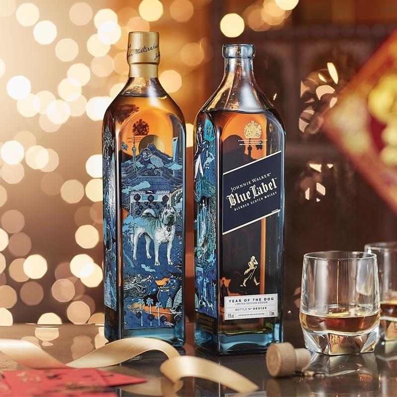 La nueva botella de Johnnie Walker celebra el Año del Perro