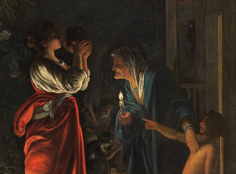 """""""Ceres en casa de Hécuba"""" (hacia 1605), de Adam Elsheimer"""