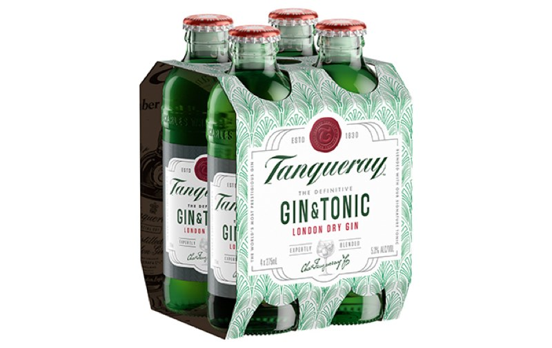 "Diageo lanza ""The definitive Gin & Tonic"", con Tanqueray y tónica premezclados"