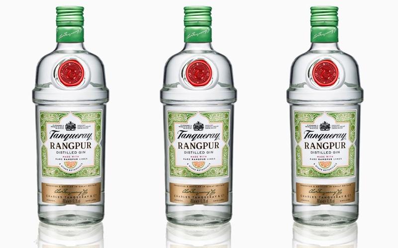 Tanqueray actualiza el packaging de Rangpur con imágenes de cítricos
