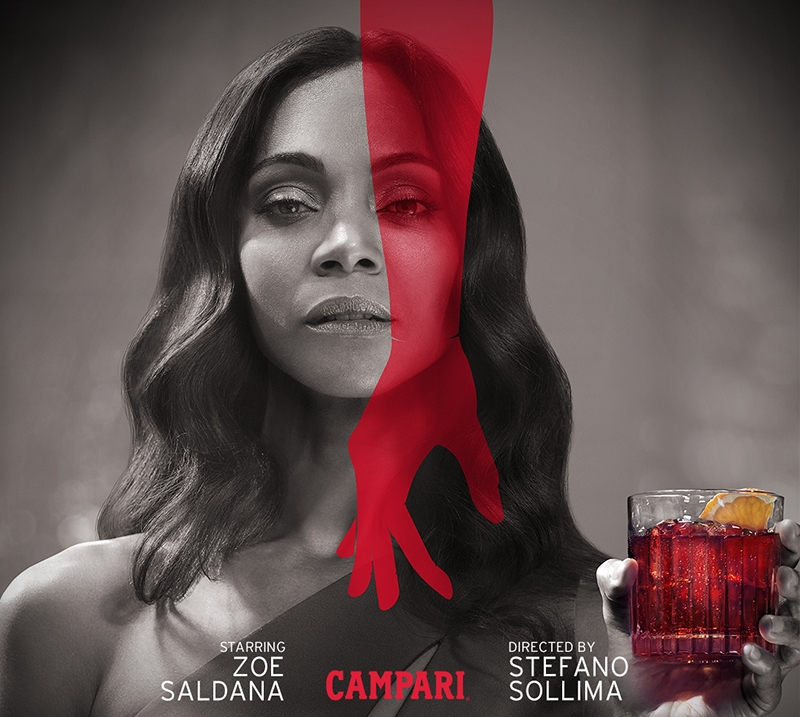 Campari estrena cortometraje protagonizado por Zoe Saldana con The Legend of Red Hand