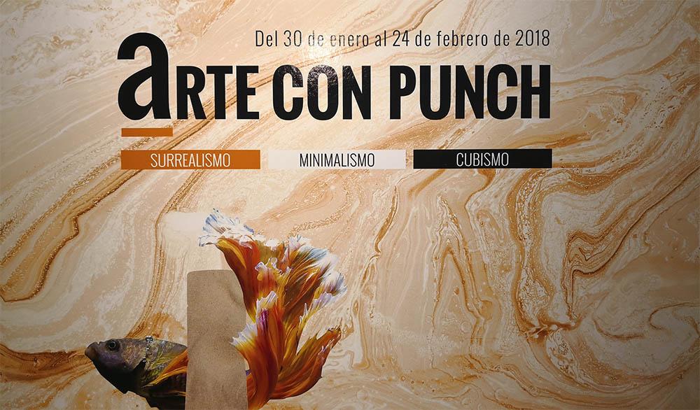 El arte se tiñe de plata de la mano de Ponche Caballero y [ES]POSITIVO en Arte con Punch