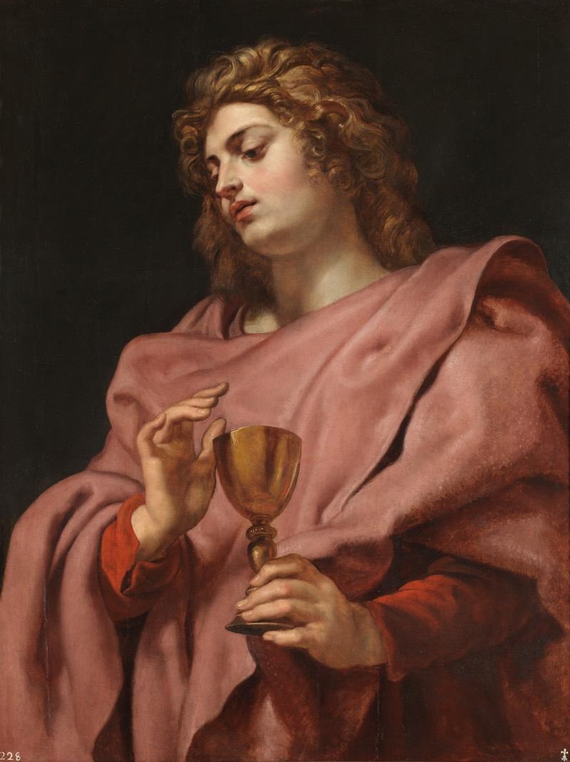 """""""San Juan Evangelista"""" (1610-1612), de Pedro Pablo Rubens"""