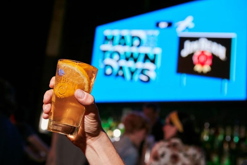 La mejor música y el sabor del whiskey americano se dan cita en Madtown Days by Jim Beam