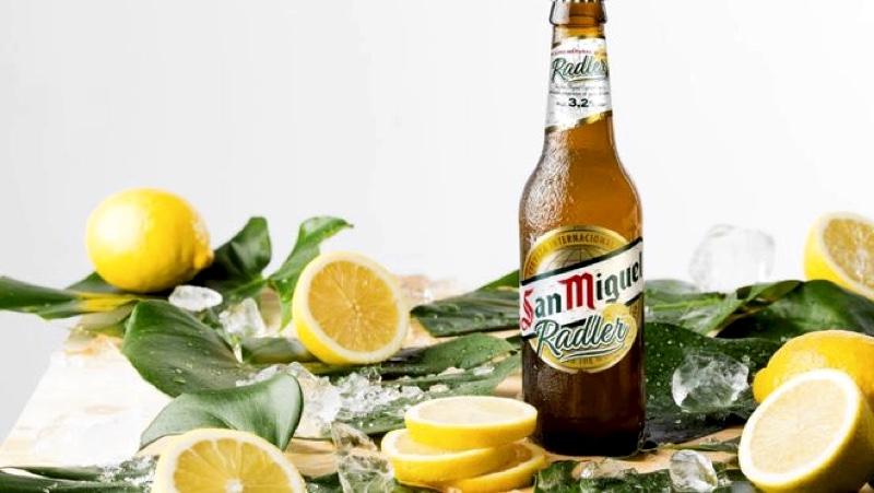 San Miguel Radler, apuesta con zumo natural de limón de Mahou San Miguel