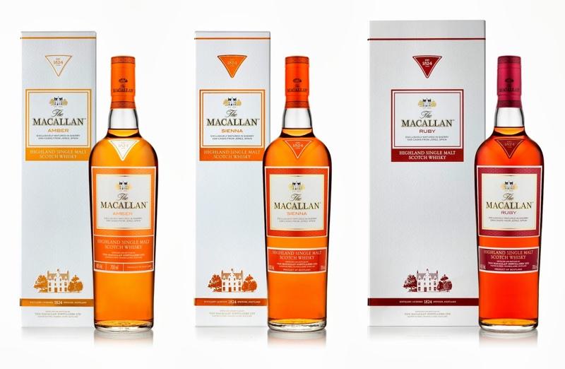 La serie 1824 de The Macallan no se fabricará hasta que llegue el nuevo diseño