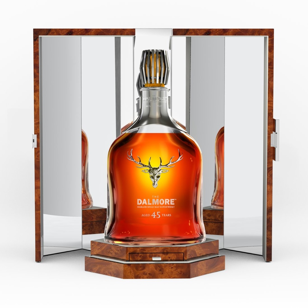The Dalmore lanza whisky single malt de 45 años en una expresión única
