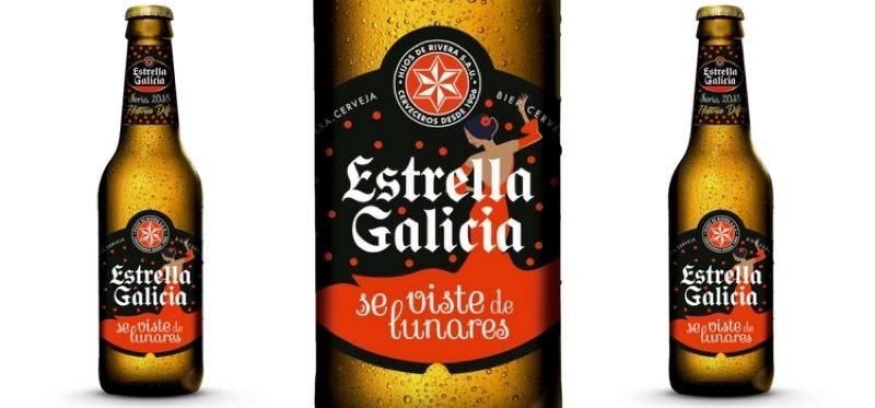 """Estrella Galicia """"se viste de lunares"""", en edición especial"""