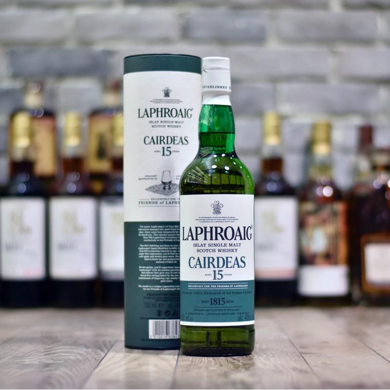 Laphroaig presenta el whisky Cairdeas de 15 años