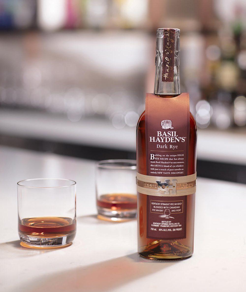 Basil Hayden's presenta su nuevo Dark Rye Whisky
