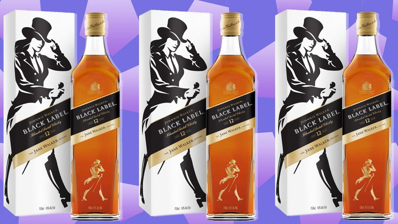 Diageo lanza el whisky escocés Jane Walker como símbolo de progreso