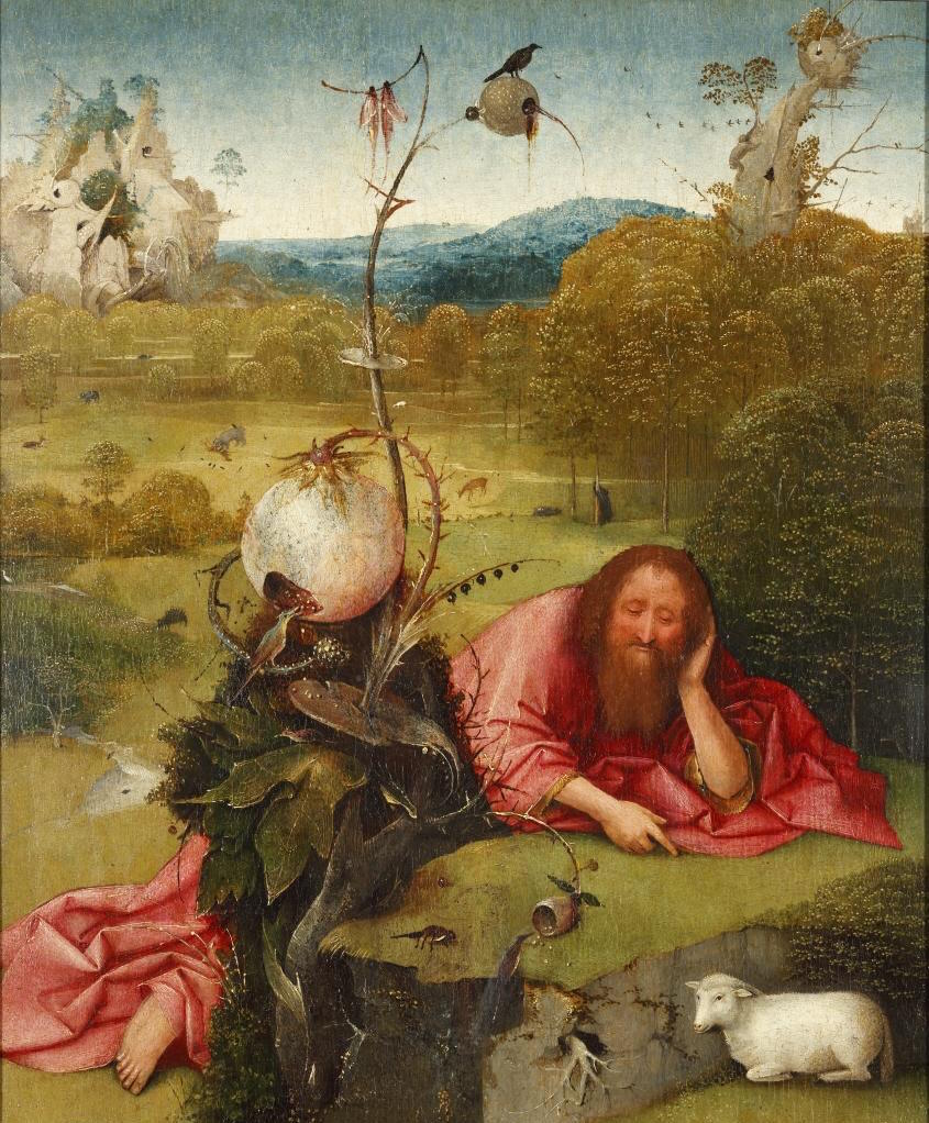"""Meditaciones de San Juan Bautista"" (1485-1510), de El Bosco"