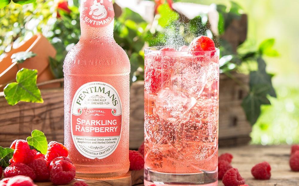 Fentimans lanza Sparkling Raspberry, mixer con frambuesas