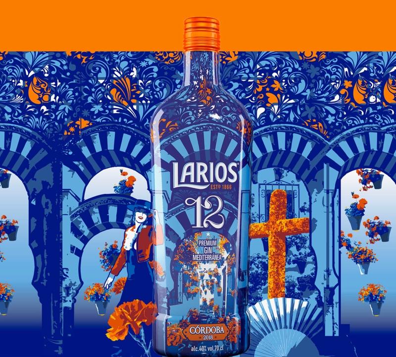 Larios 12 quiere acompañar a los cordobeses con el lanzamiento de una edición especial para el Mayo Cordobés de 2018