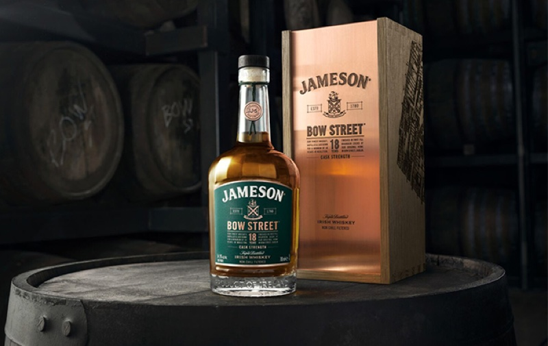 Jameson se pone 'serio' con Jameson Bow Street 18 Years Cask Strength whiskey